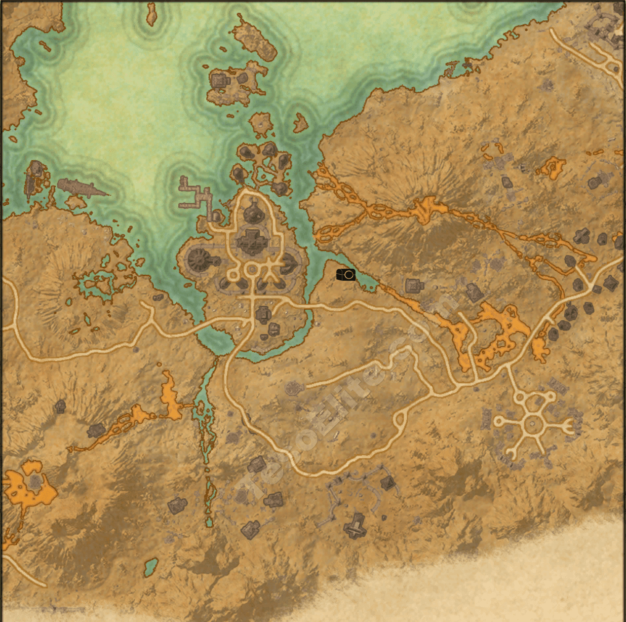 stonefalls ce treasure map