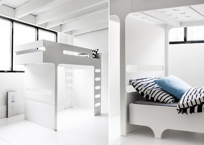 F&A bed set White - Rafa-kids