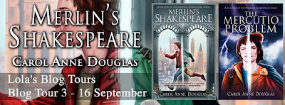 Merlin's Shakespeare banner