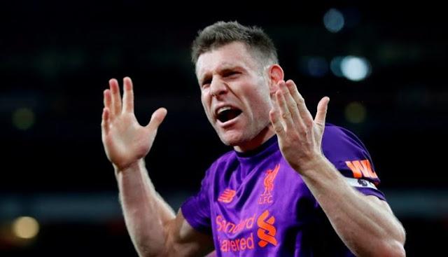 Milner Frustrasi Liverpool Gagal Kalahkan Arsenal