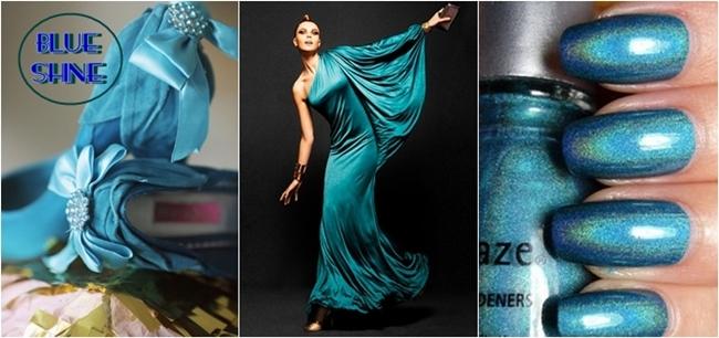 blue shine photos