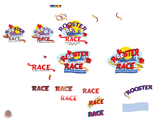 Rooster Race Logo Development by Imagine That! Design
