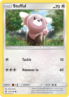 Stufful Guardians Rising Pokemon Card