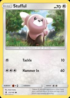Stufful Guardians Rising Pokemon Card