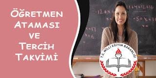 Sözleşmeli Öğretmenlik Tercih ve Atama Takvimi Yayımlandı