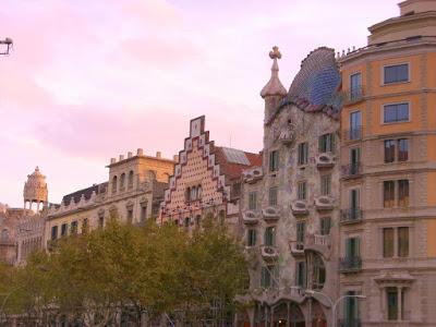 Casa Batlló in Passeig de Gràcia