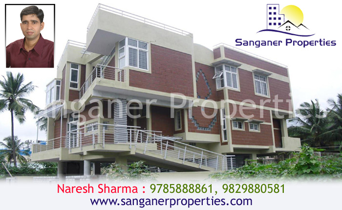 JDA Approved Residential House At Haldighati Road in Sanganer