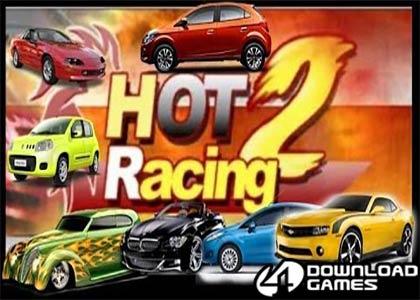 لعبة سباق السيارات الساخن Hot Racing 2