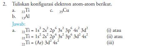 Penerapan Prinsip dan Asas Aufbau, Aturan Hund dan Larangan Pauli Dalam Menentukan Susunan Konfigurasi Elektron Kimia