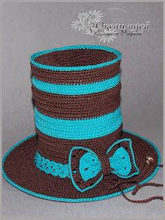 шляпа цилиндр своими руками