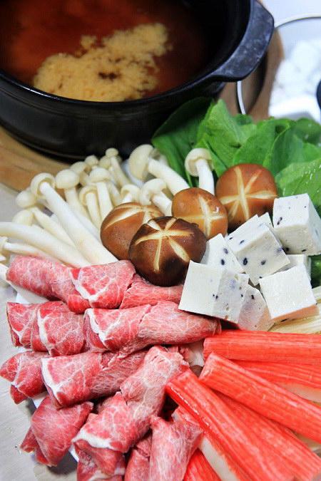 Lẩu miso Nhật