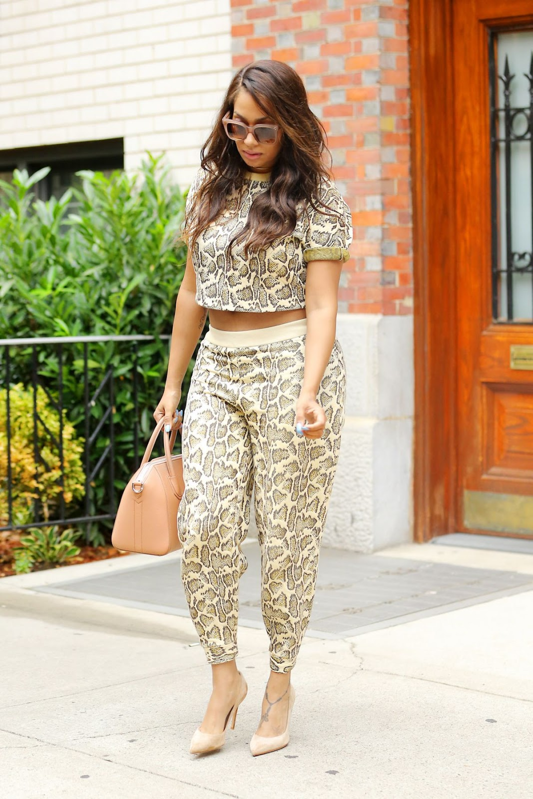 La La Anthony out and About in Manhattan