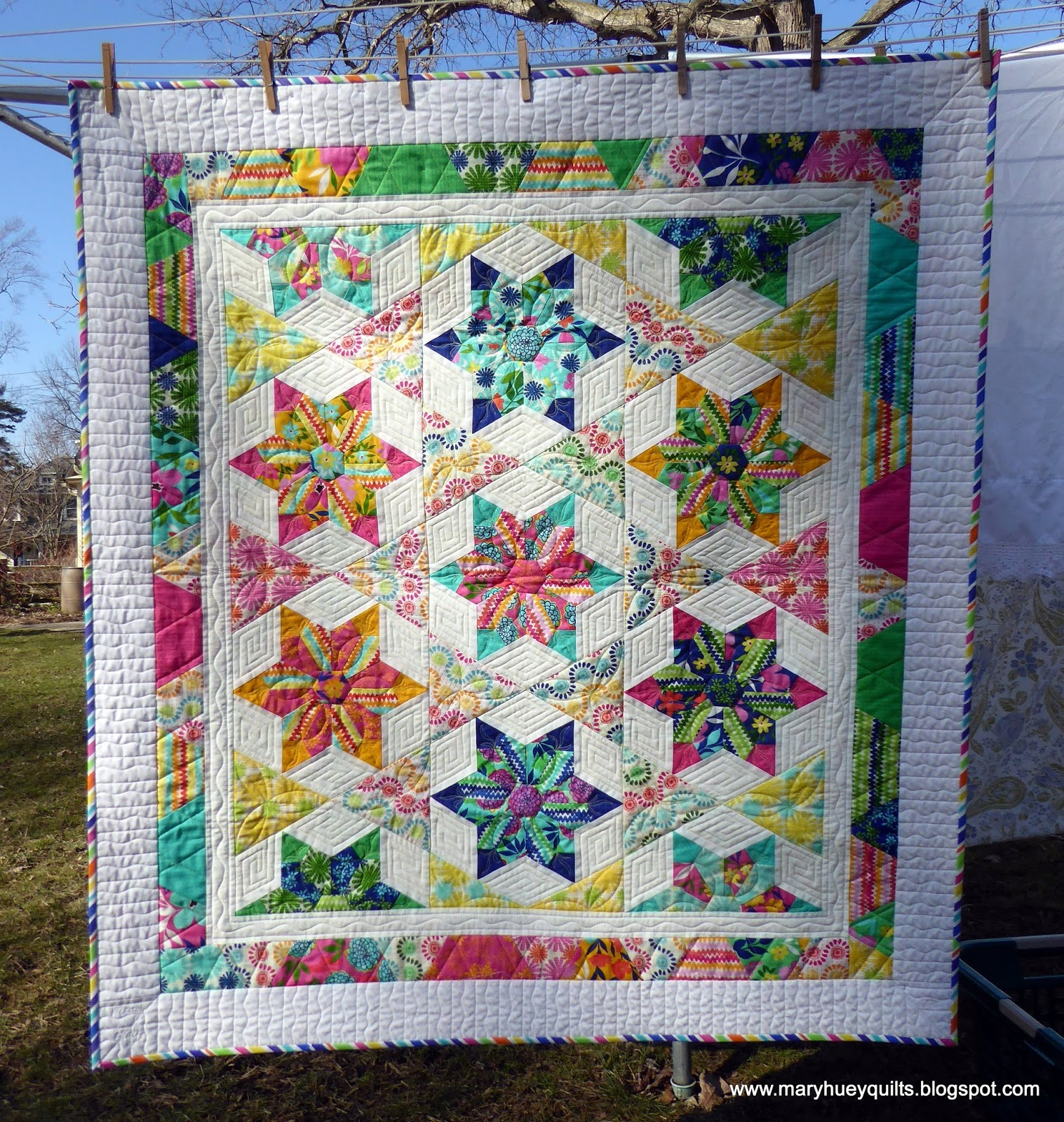 Quilting Through Rose Colored Trifocals The Dresden Star