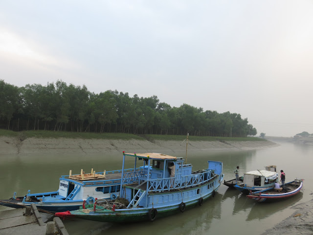 Jhingekhali Forest Range and Watch Tower Kalitala Ferry Ghat