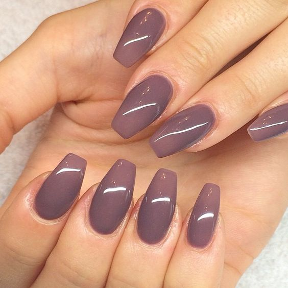 """coffin"" style nail"