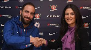 Bursa Transfer! Gonzalo Higuain Resmi Bergabung ke Chelsea, Arsenal Gigit Jari