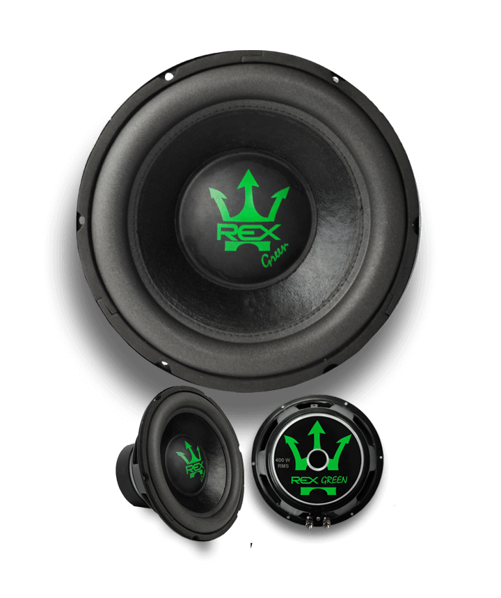 SUBWOOFER REX GREEN