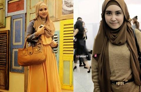 model baju muslim casual orang gemuk