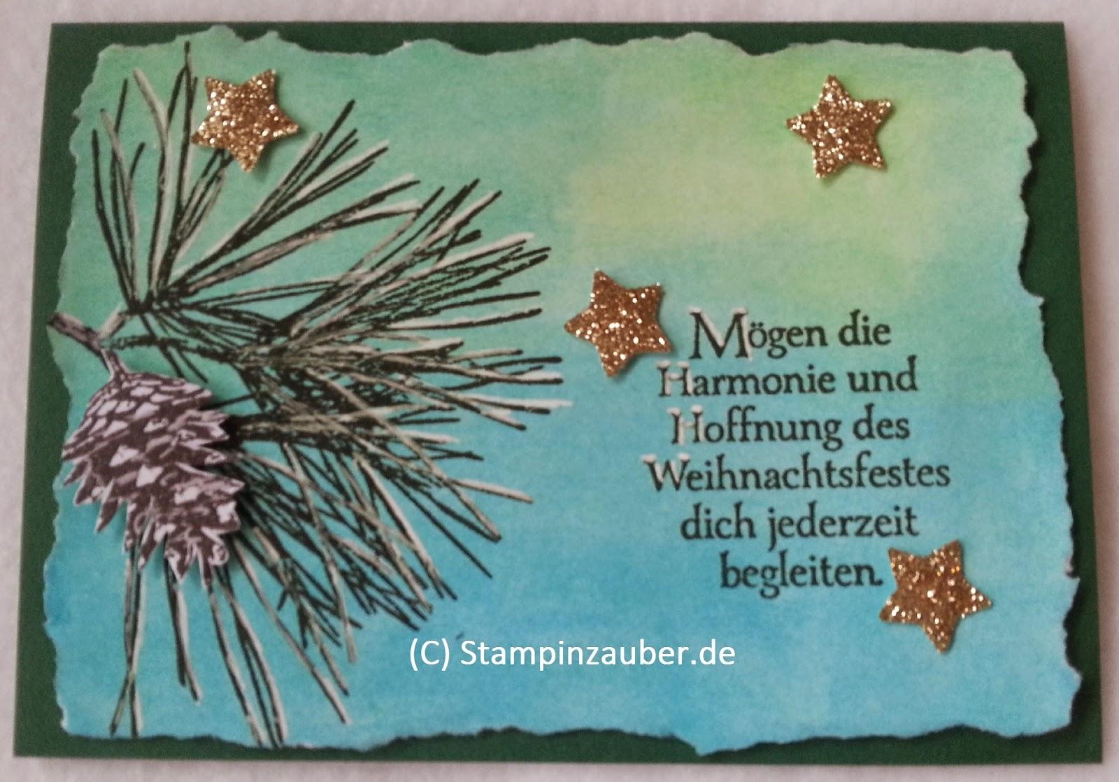 Stampin' Up! Jena Thüringen Weihnachtskarte Silvi Provolija