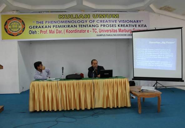 Prof Mai Dar, Ilmuan Aceh dari Jerman Isi Kuliah Umum di Unimal