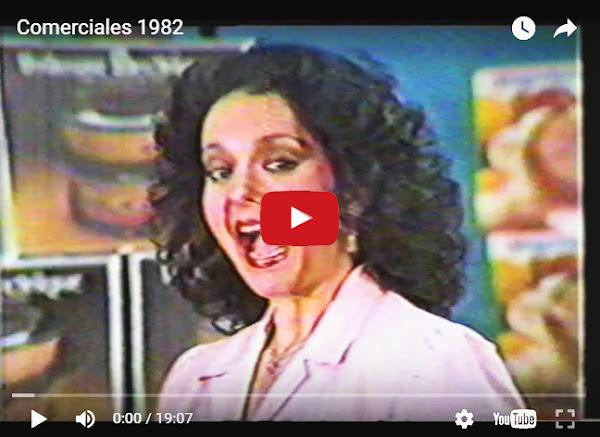 Algunos anuncios publicitarios de TV de 1982 en Venezuela