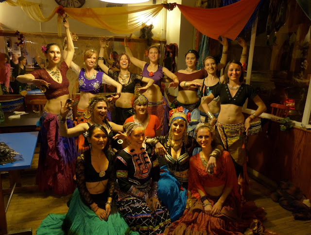Tribal ATS Fusion Rennes Bretagne Elaïs Livingston Cours danse
