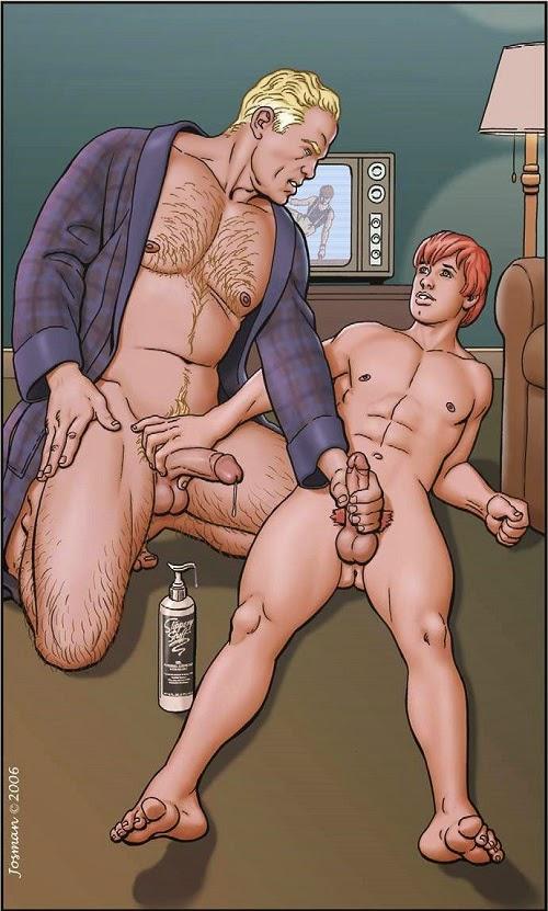 Realistic Gay Sex Cartoon Fetish 1