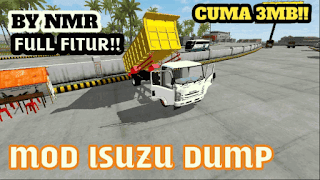 download game bussid mod truck isuzu apk