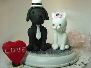 Epic Pet Wedding Cake Topper