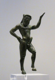 Statue of satyr