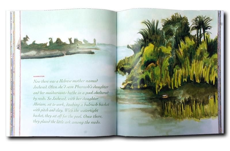The Bronfman Haggadah illustrations