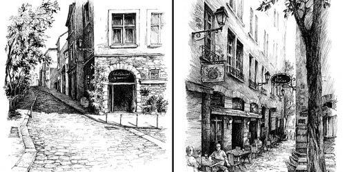 00-Urban-sketches-Asmik-Babaian-www-designstack-co