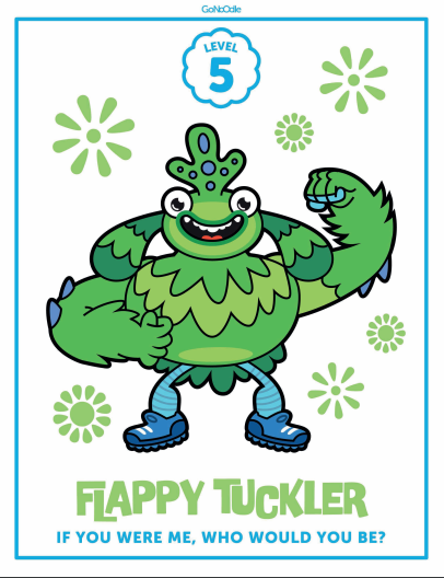 gonoodle monsters coloring pages - photo#16