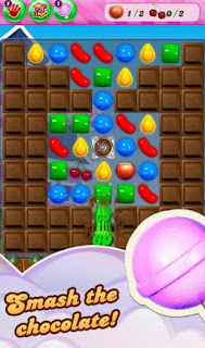 Candy crush saga smash the chocolate