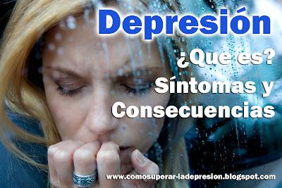que es la depresion, consecuencias depresion