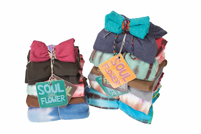 soul flower gift wrapping - Eco Gift Wrapping: Without the paper, boxes & bags