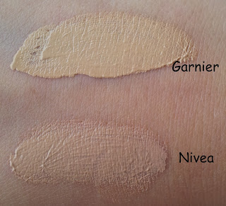 Nivea BB-Cream in hell Swatch