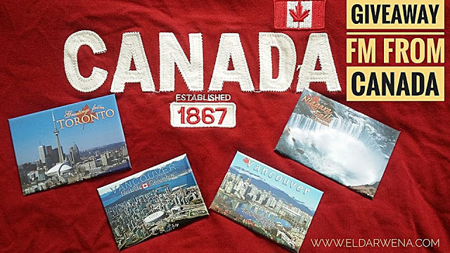 GIVEAWAY FM FROM CANADA