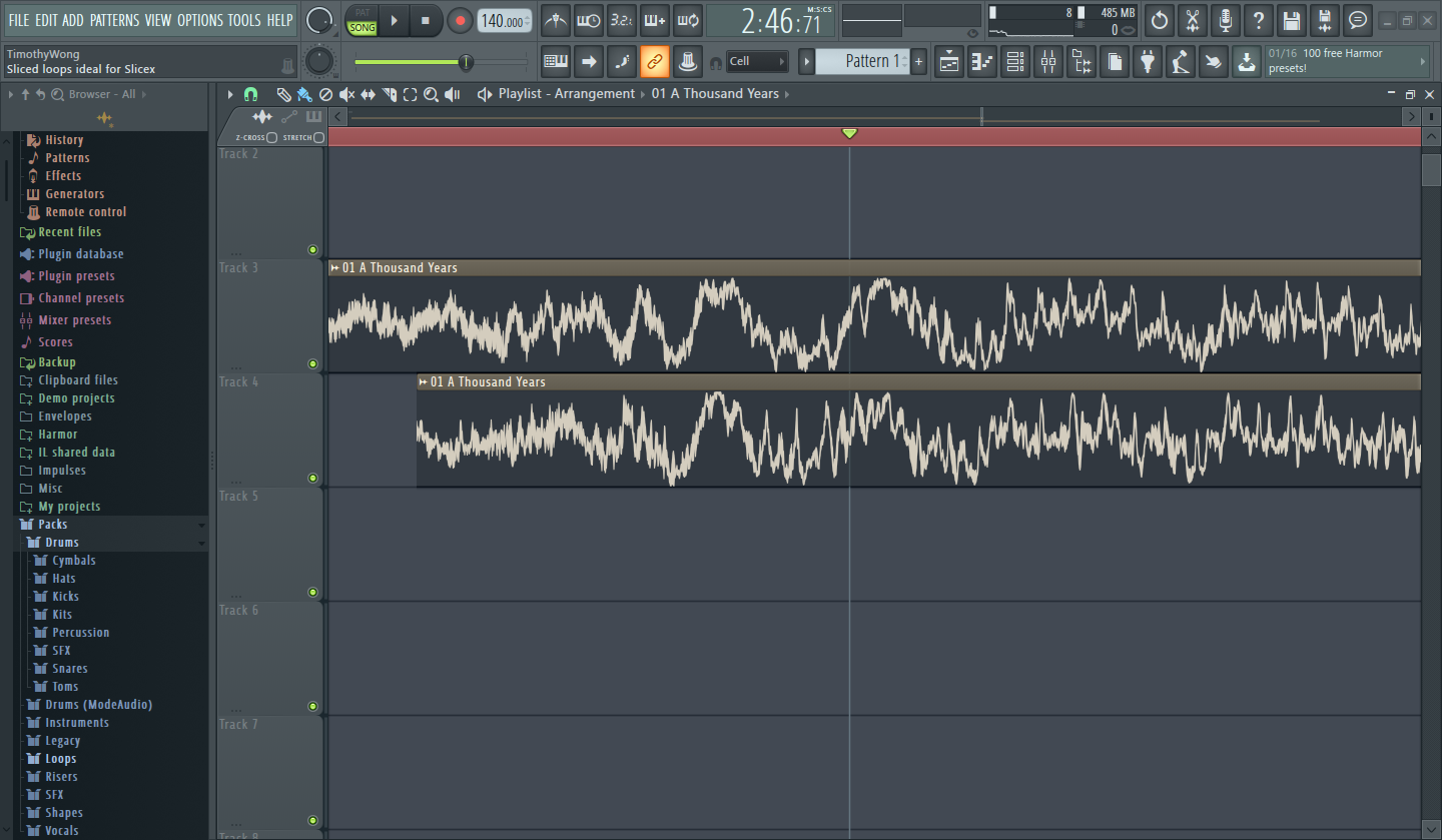 DDRKirby(ISQ)'s Blog: Dance Music Editing, other stuff