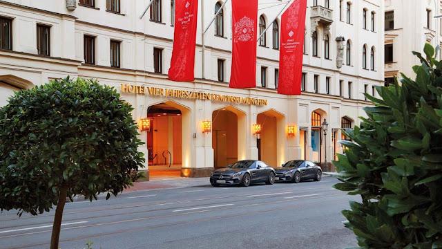 Hotel Vier Jahreszeiten Kempinski (Мюнхен) в наши дни