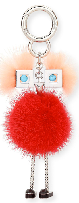 Fendi Chick Mink-Fur Bag Charm