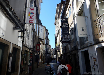 Rua do Franco - Santiago de Compostela