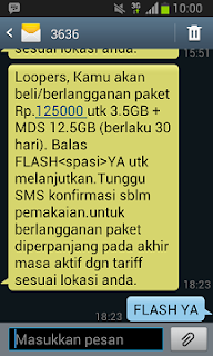 Paket LOOP 16GB