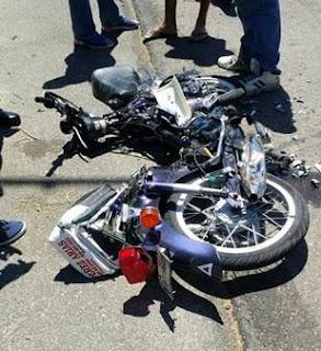 Accidente entre motocicleta y yipeta deja un muerto en Palo Alto, Barahona