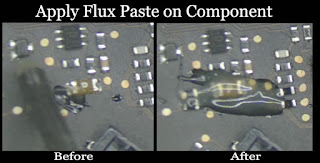 Solder flux is great for all of your solder, desolder, rework and reflow purposes! For those of you unfamiliar, flux solder flow cleanly onto the parts you are soldering