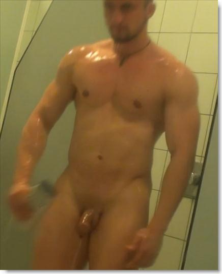 Exclusively hunks in shower naked easier tell