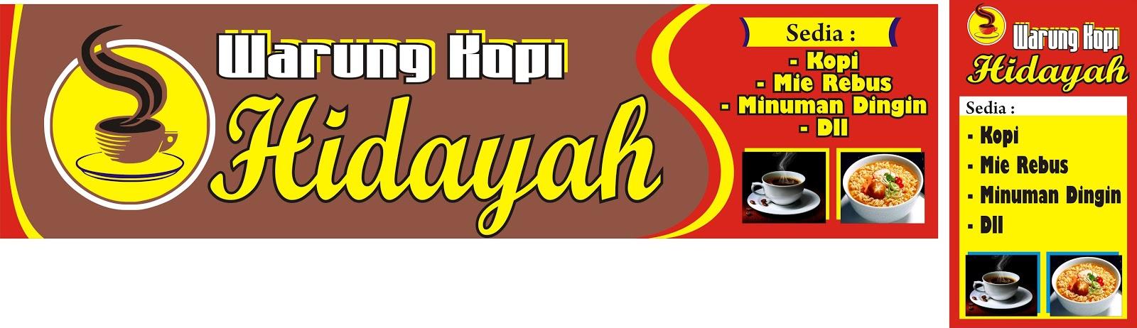 Banner Warung Kopi Cdr