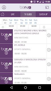 تحميل تطبيق Bein Sport الرسمي للاندرويد