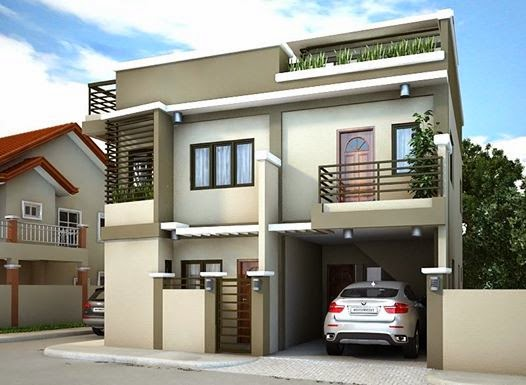 Small House Design 90 Meter Square (15m X 6m)