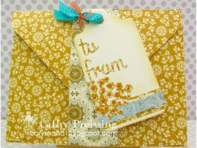 My Time to Craft Challenge #368 - Box/Bag with Matching Tag